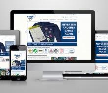Badge Magic e-Commerce Website